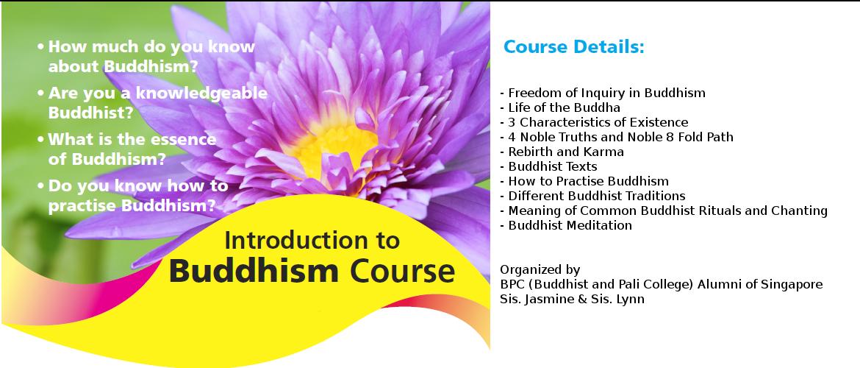BPC – Introduction to Buddhism – Mangala Vihara