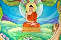 MV-Jayasiri-murals: Enlightenment