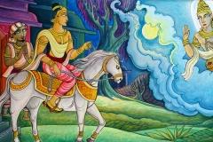 MV-Jayasiri-murals: Renunciation